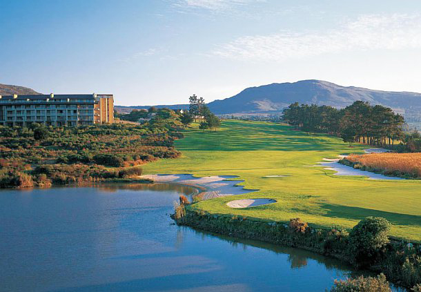 Golf Course at Arabella Hotel and Spa Cape Town, South Africa