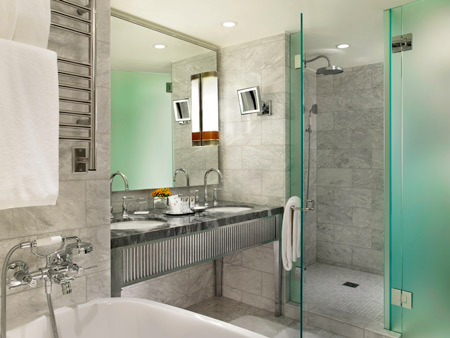The St Regis Aspen Resort Guest Room Bathroom