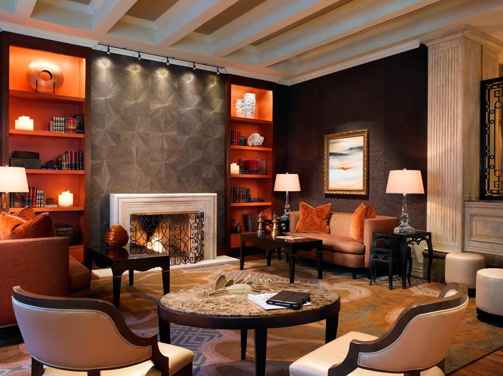 Suite Living Area at St Regis Houston, TX