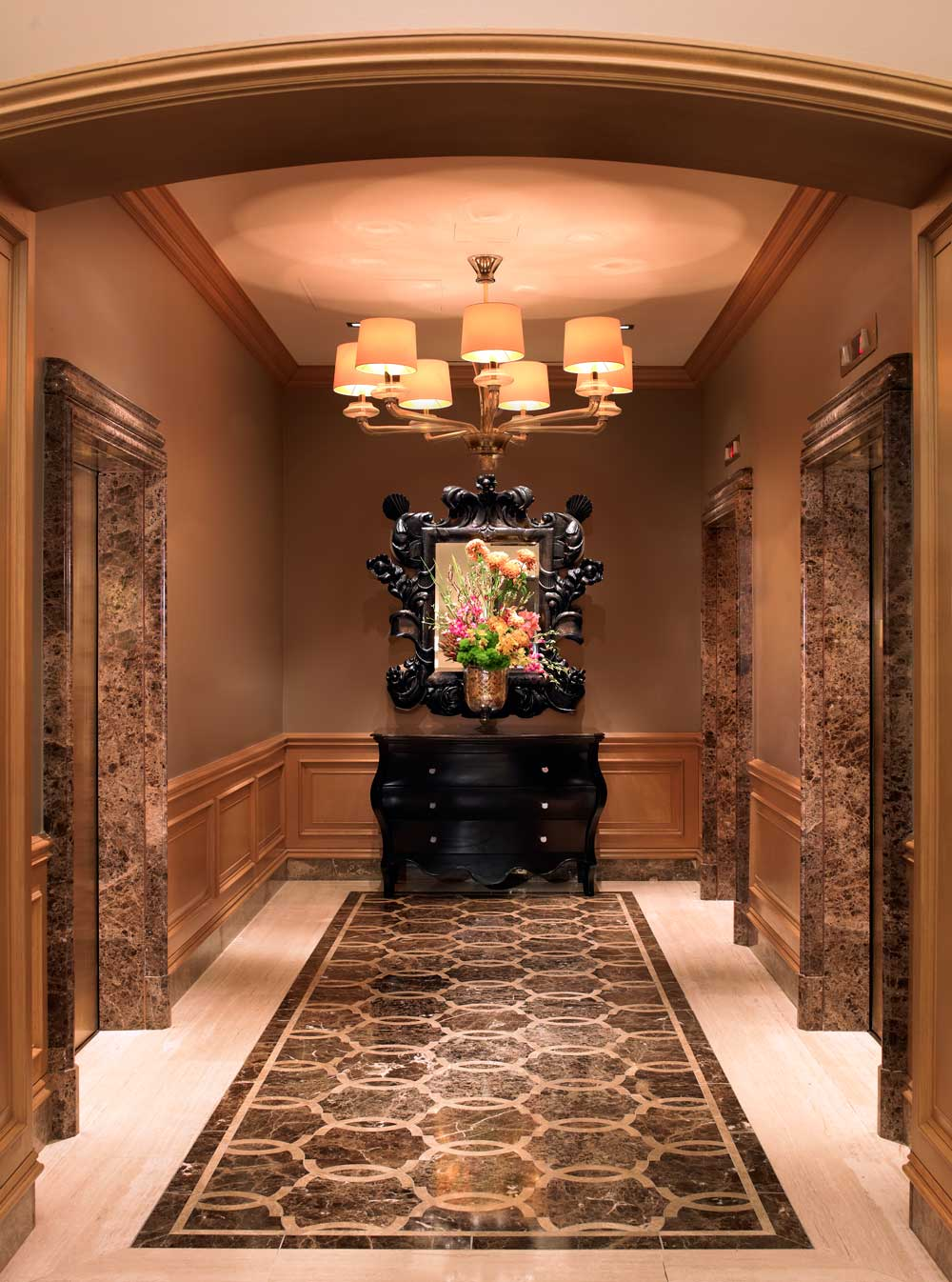 Lobby at The St Regis HoustonTx