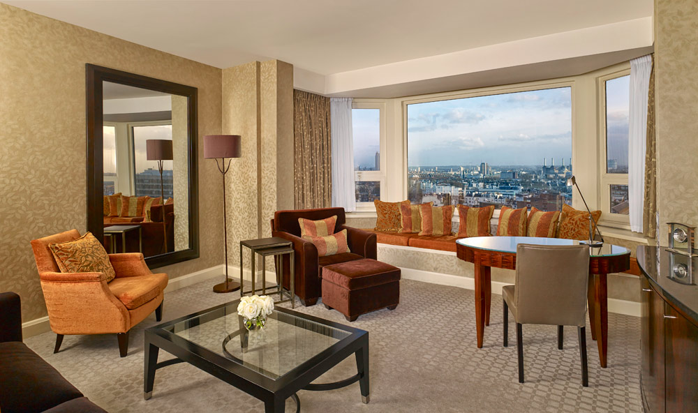 The Park Tower Knightsbridge suite sitting room, London