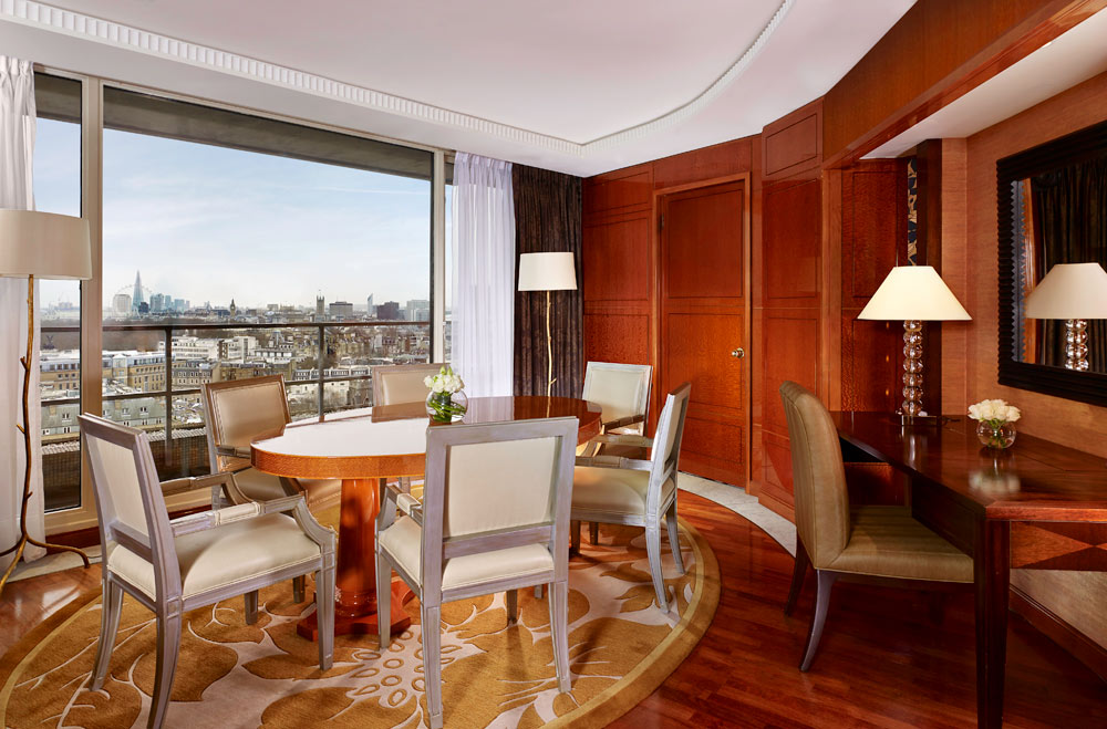 The Park Tower Knightsbridge suite dining room, London