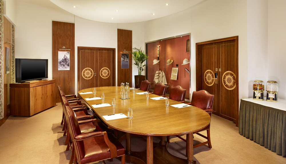 The Park Tower Knightsbridge boardroom, London