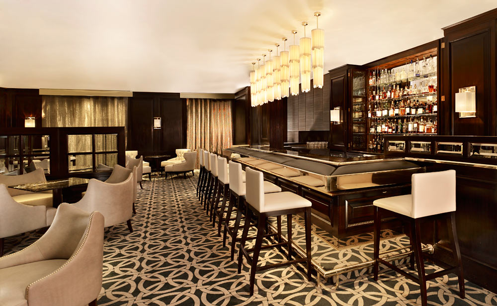 Bar at The Park Tower Knightsbridge, London, United Kingdom
