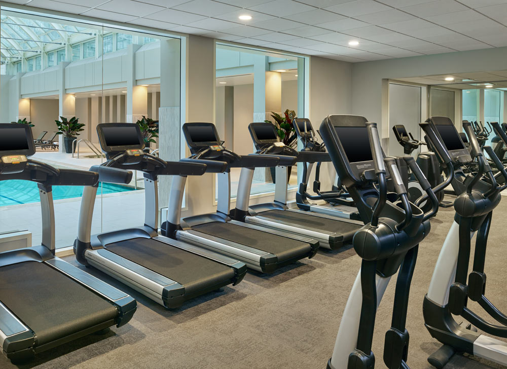 Fitness Center at Palace Hotel, San Francisco