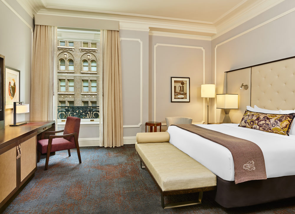 Deluxe King Guestroom at Palace Hotel, San Francisco