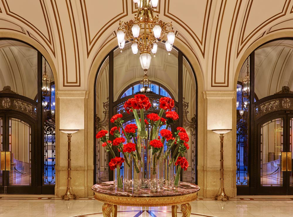 Lobby at Palace Hotel, San Francisco
