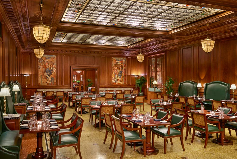 Pied Piper Restaurant at Palace Hotel, San Francisco