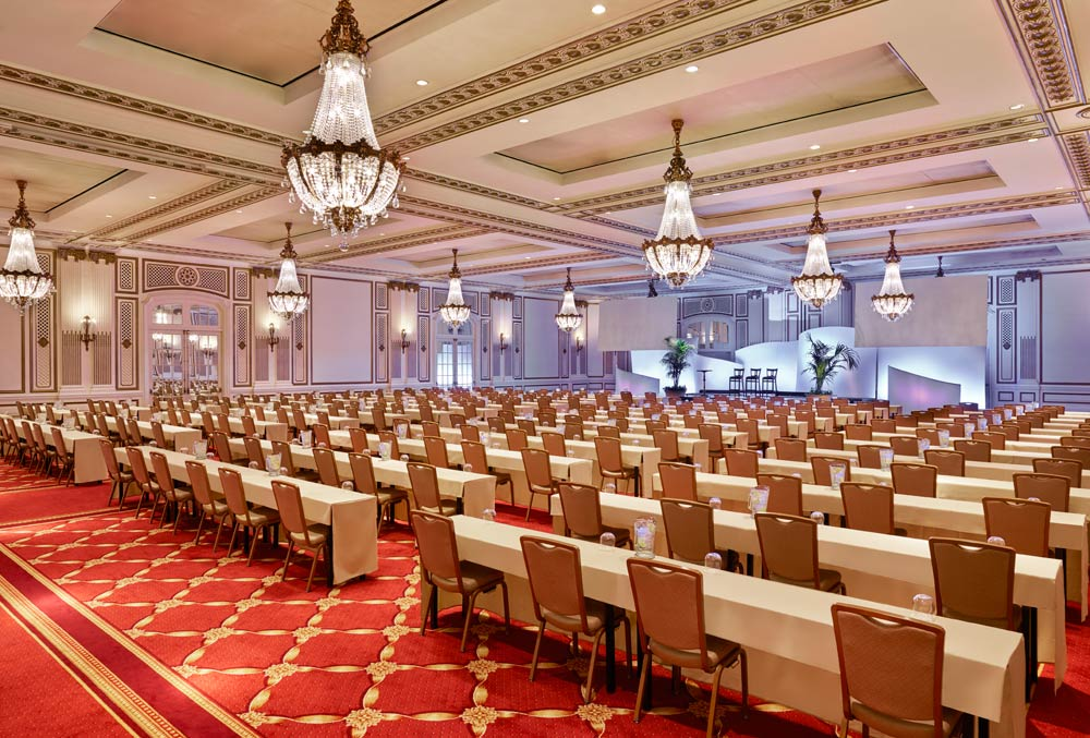 Grand Ballroom at Palace Hotel, San Francisco