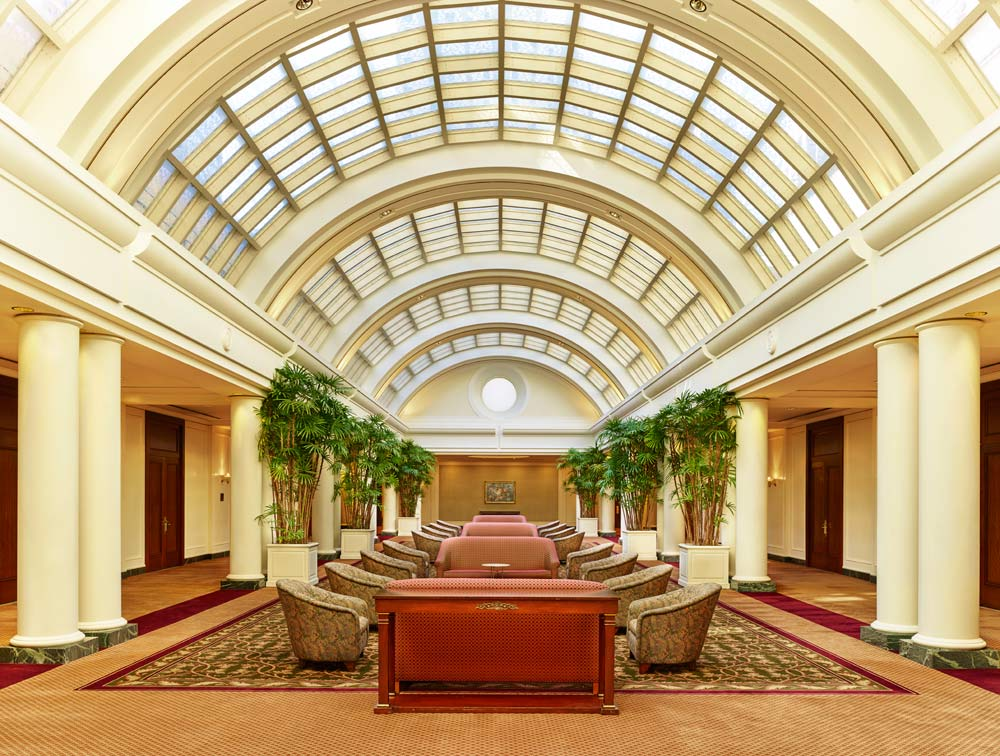 Sunset Court Meeting Space at Palace Hotel, San Francisco
