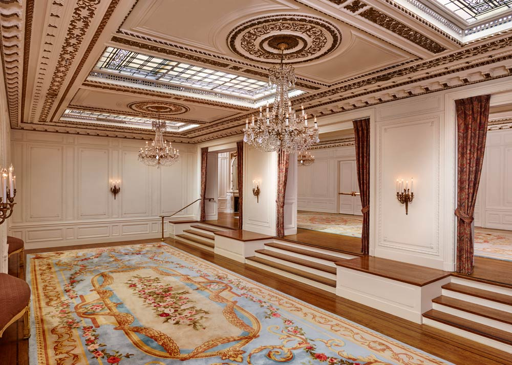 French Parlor Meeting Space at Palace Hotel, San Francisco