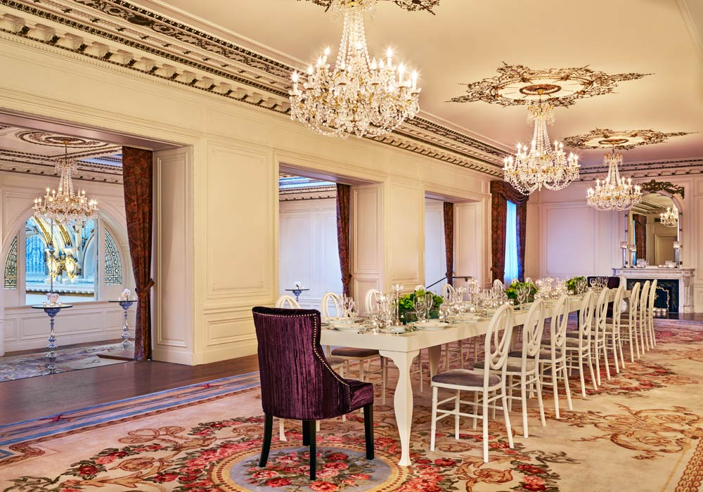 French Parlor Meeting and Event Space at Palace Hotel, San Francisco