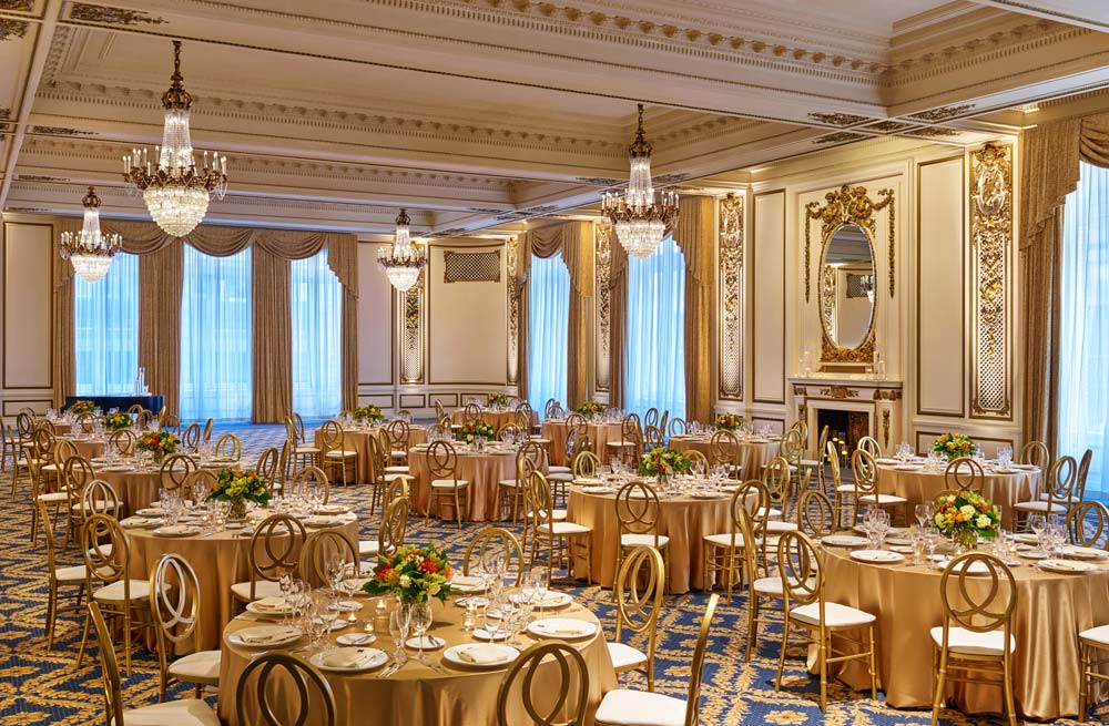 Gold Ballroom at Palace Hotel, San Francisco