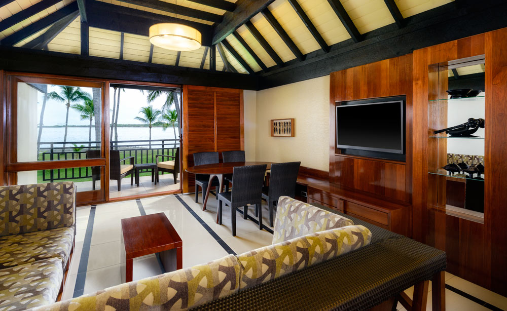 Family Room of Suite at Westin Denarau Island Resort