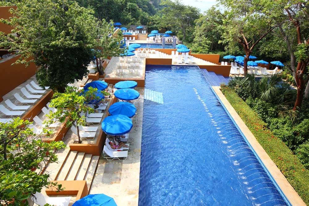Outdoor Pool at Las Brisas Ixtapa, Mexico