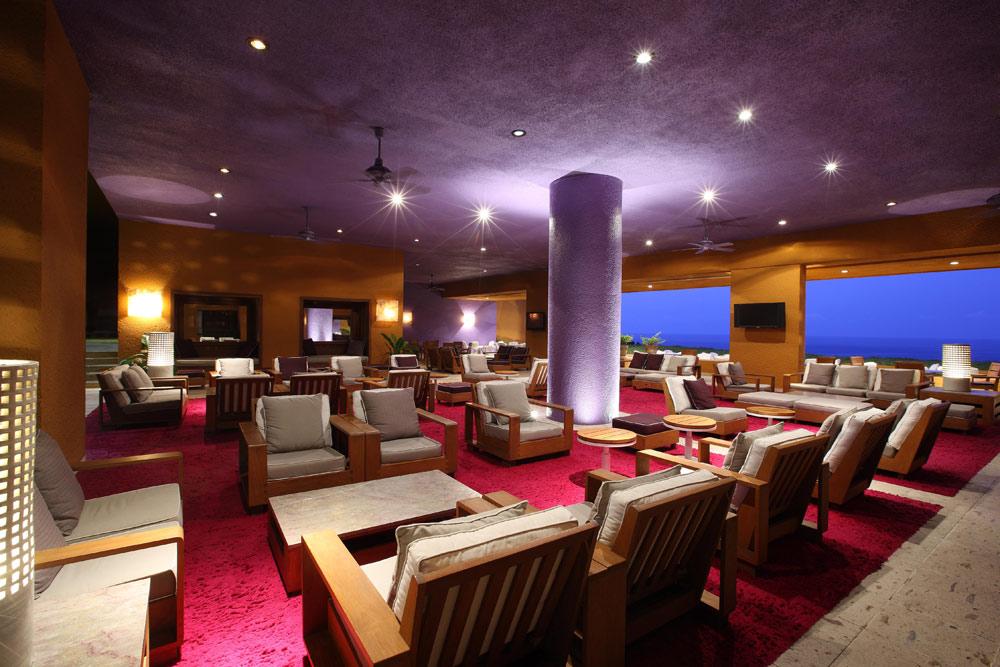 Lobby and Bar at Las Brisas Ixtapa, Mexico