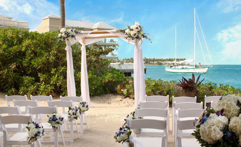 Weddings at Pier House Resort and SpaKey WestFL