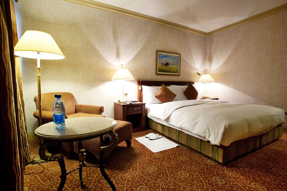 Guestroom at The InterContinental Almaty, Kazakhstan