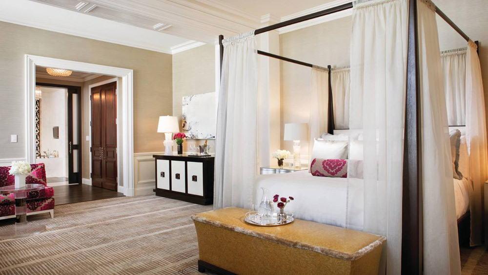 Guestroom at Beverly Wilshire a Four Seasons Hotel Beverly Hills