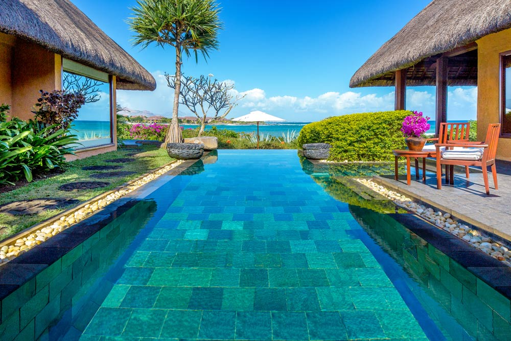 Royal Villa Pool at The Oberoi Mauritius