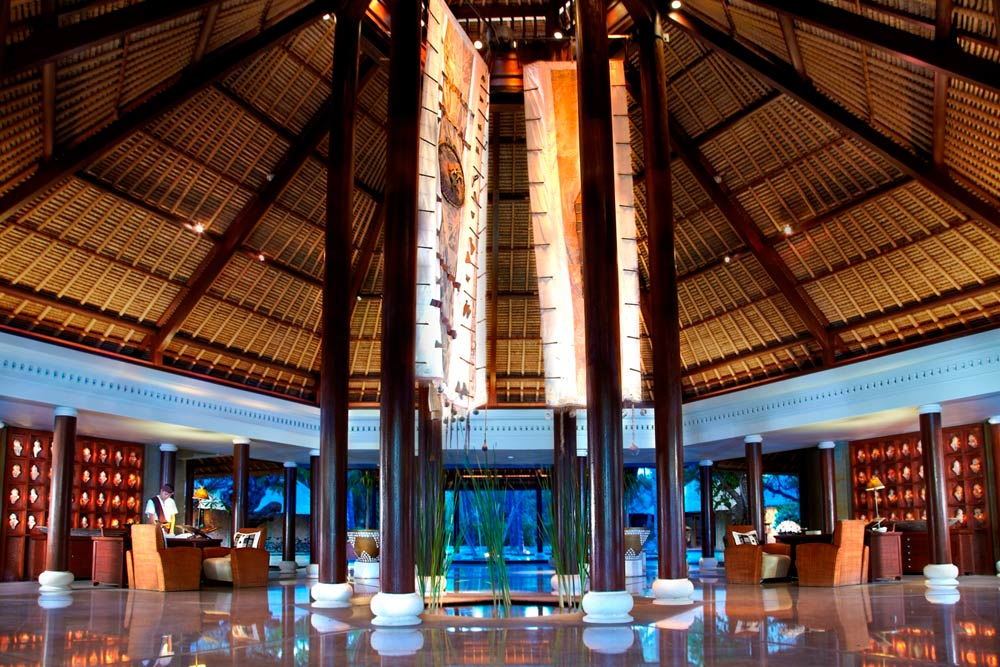 Oberoi Lombok Lobby, Indonesia