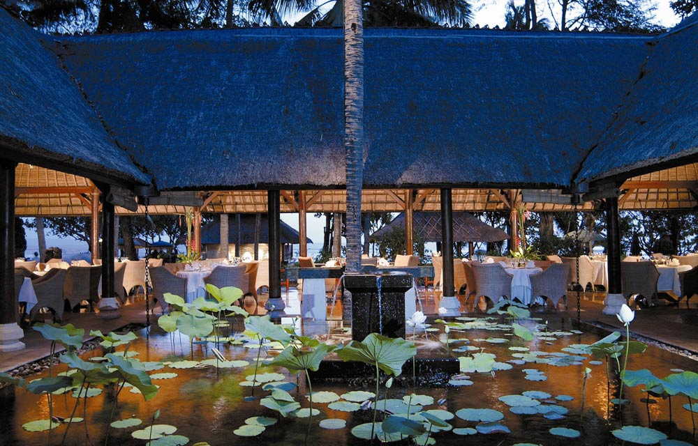 Kura Kura Restaurant at Oberoi Bali, Indonesia