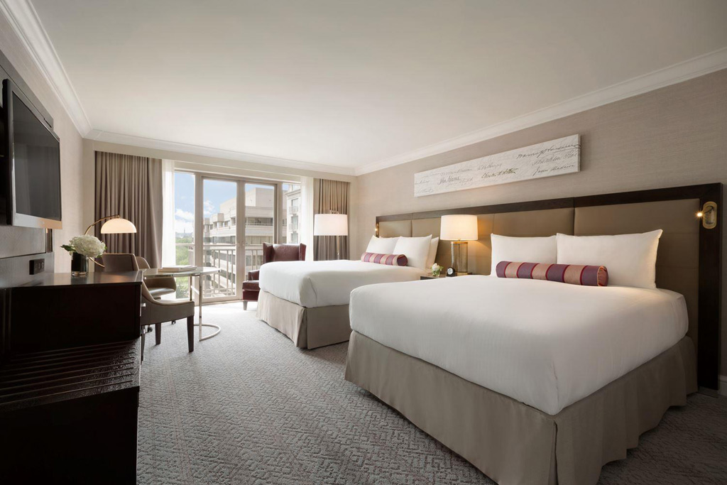 Deluxe Two Queen Guest Room at Fairmont Washington DCUnited States