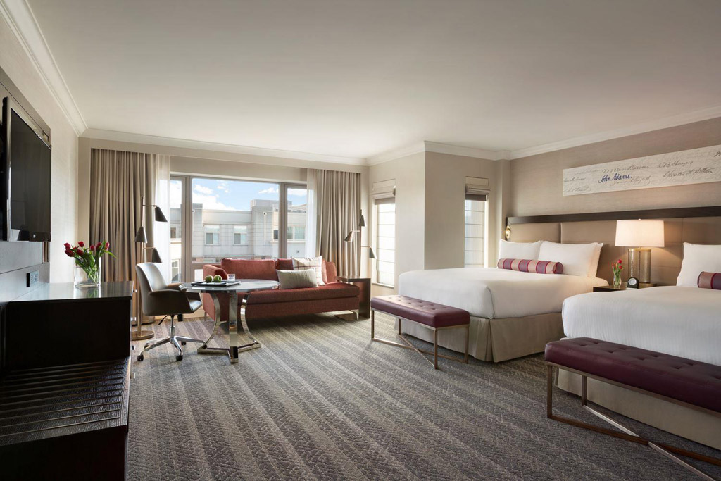 Two Queen Signature Guest Room at Fairmont Washington DCUnited States