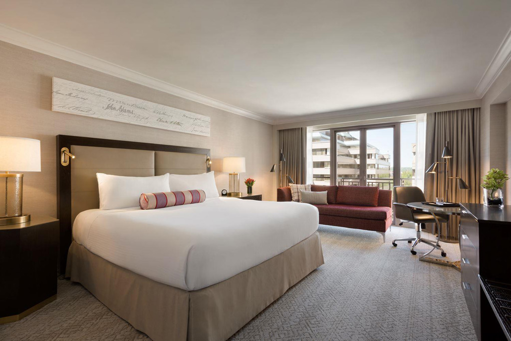 Deluxe King Guest Room at Fairmont Washington DCUnited States