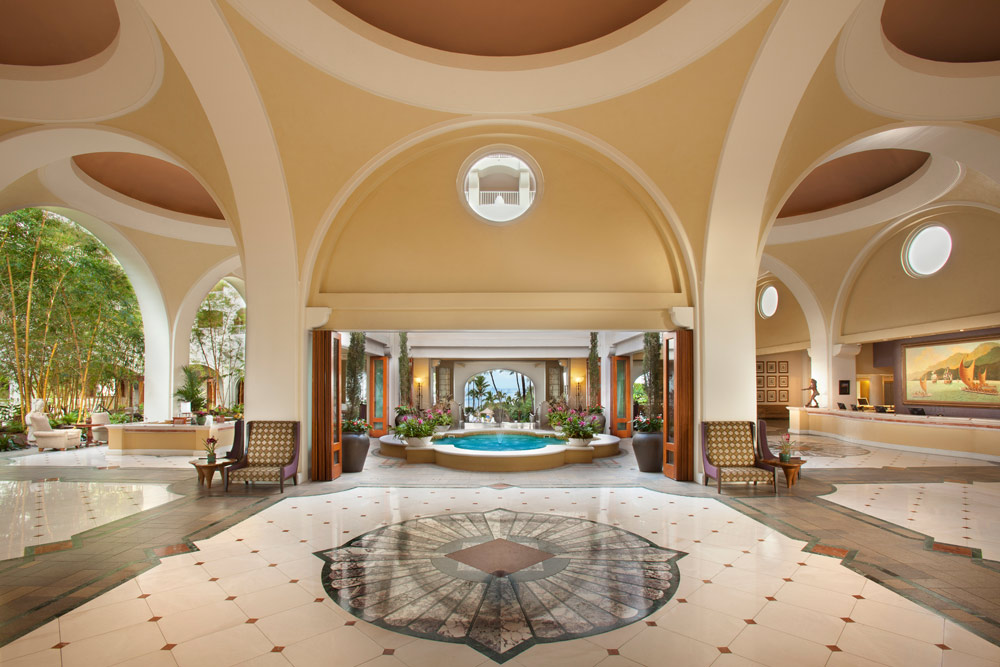 Lobby of Fairmont Kea Lani ResortHI