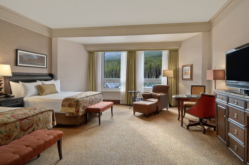 Guest Room at Fairmont Banff Springs, Banff, Canada