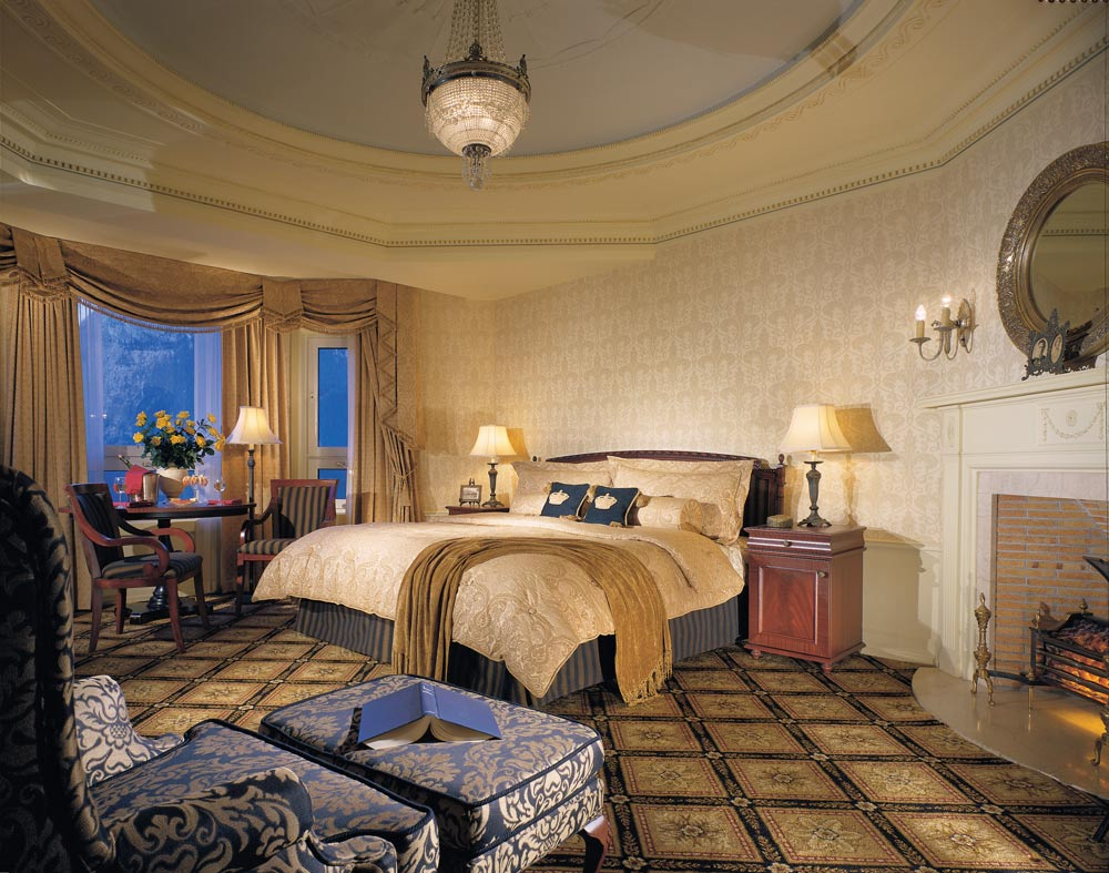 Guest Suite at Fairmont Banff Springs, Banff, Canada