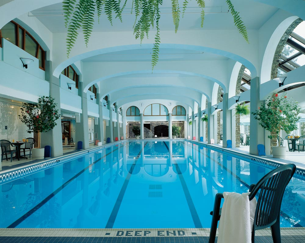 Indoor Pool at Fairmont Banff Springs, Banff, Canada