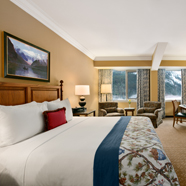 Guest Room at Fairmont Chateau Lake LouiseCanada