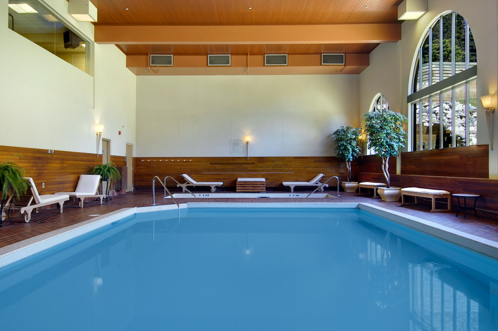 Indoor Pool at Fairmont Chateau Lake Louise, Canada