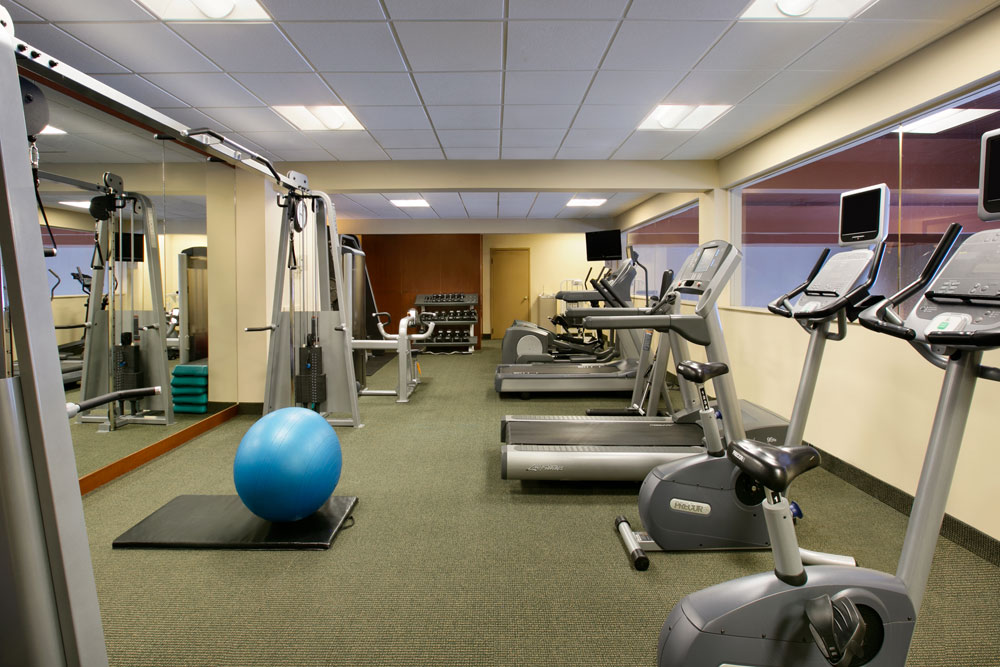 Fitness Center at Fairmont Chateau Lake LouiseCanada