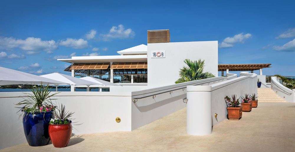 Bar and Dine Exterior at Fairmont Hamilton PrincessHamiltonBermuda