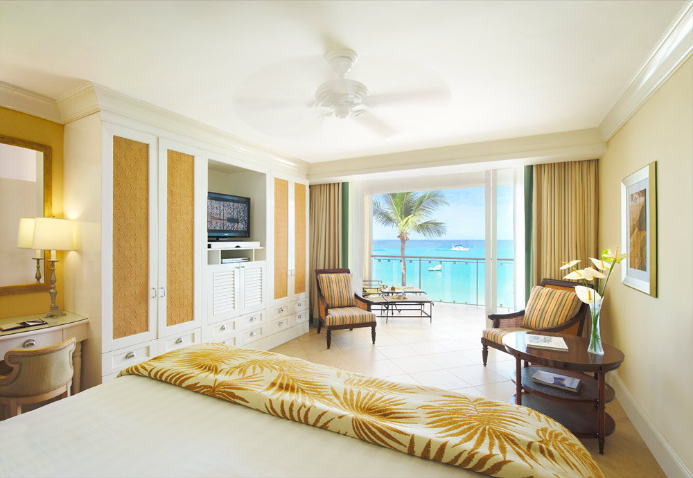 Oceanfront deluxe room at Fairmont Royal PavilionBridgetownBarbados