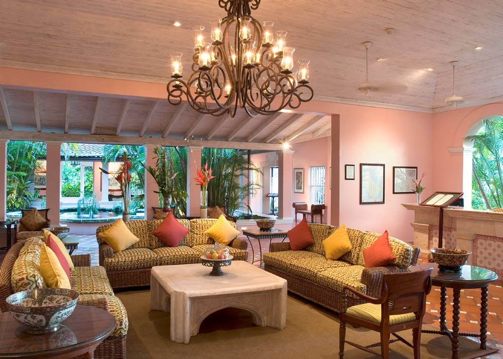 Lobby at Fairmont Royal Pavilion BridgetownBarbados