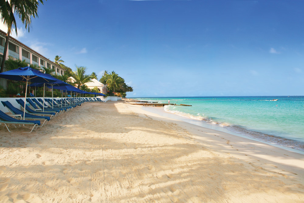 Beach at Fairmont Royal PavilionBridgetownBarbados