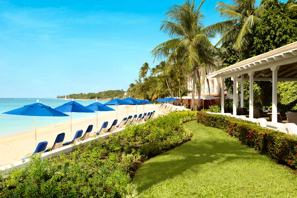 Exterior beach view at Fairmont Royal PavilionBridgetownBarbados