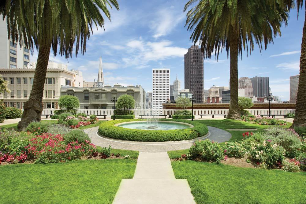 Rooftop Garden at Fairmont San Francisco