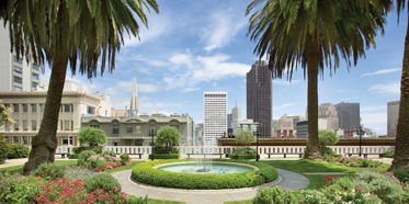Rooftop Garden at Fairmont San Francisco