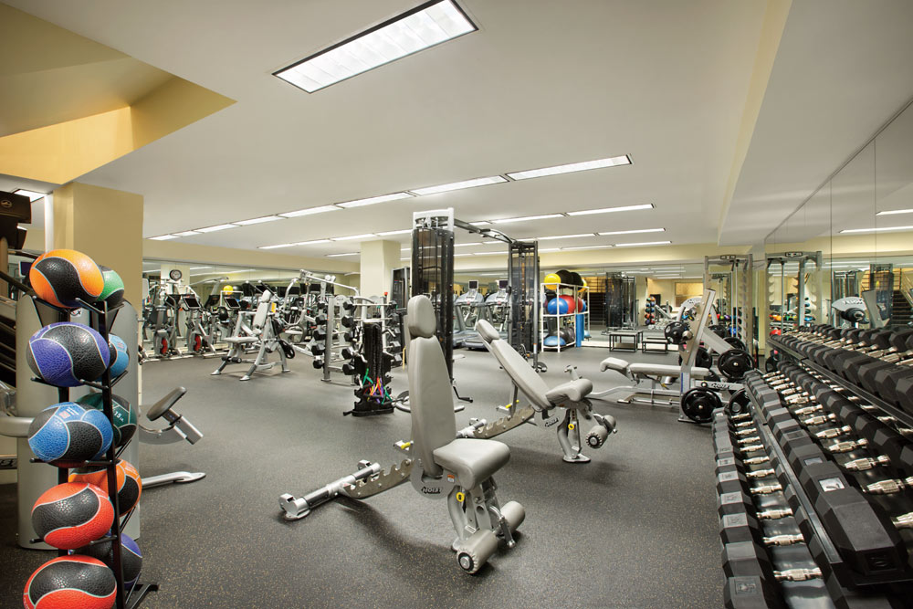 Fitness Room II at Fairmont San Francisco