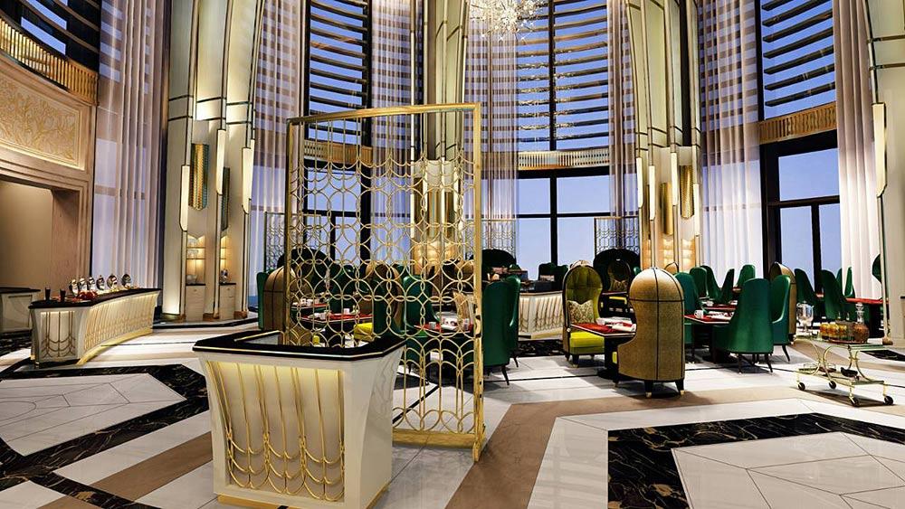 Palm Court Lounge at Four Seasons Jakarta, Jakarta, Indonesia