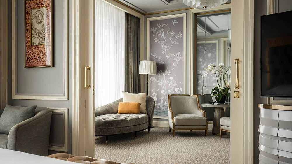Suite Lounge at Four Seasons Jakarta, Jakarta, Indonesia