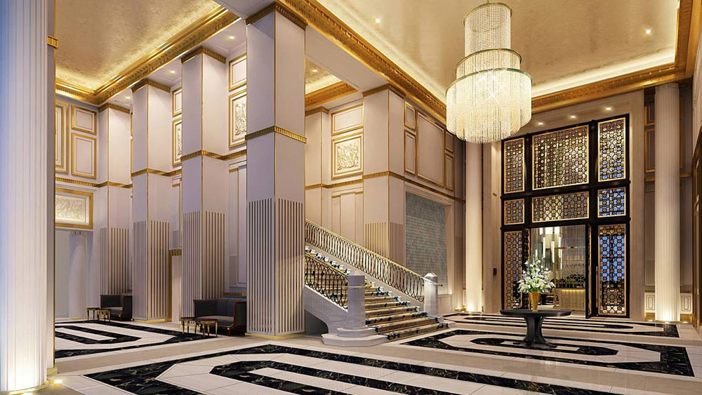 Lobby of Four Seasons Jakarta, Jakarta, Indonesia