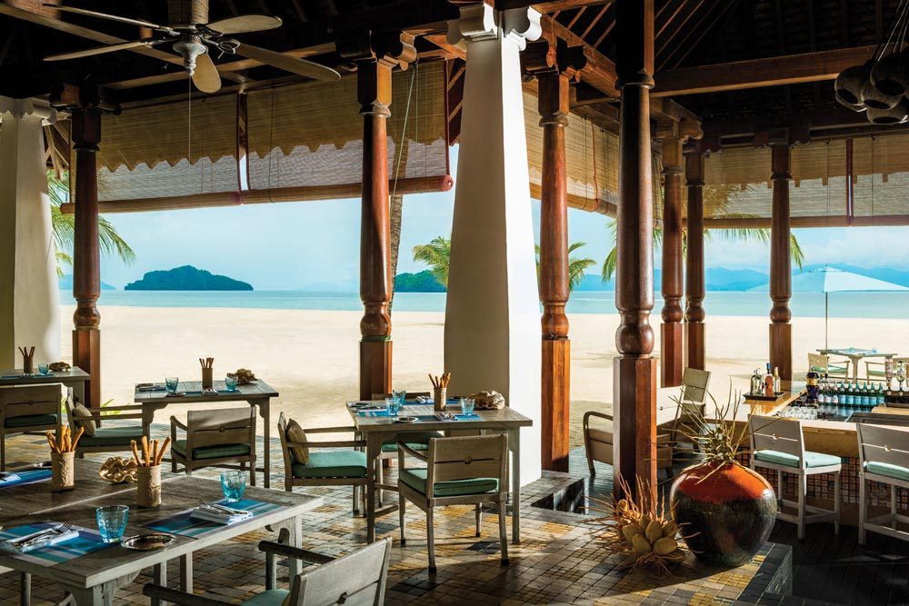 Dining at Four Seasons LangkawiKedah Darul AmanMalaysia
