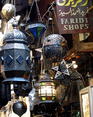 Metal Work at the Cairo Bazaar