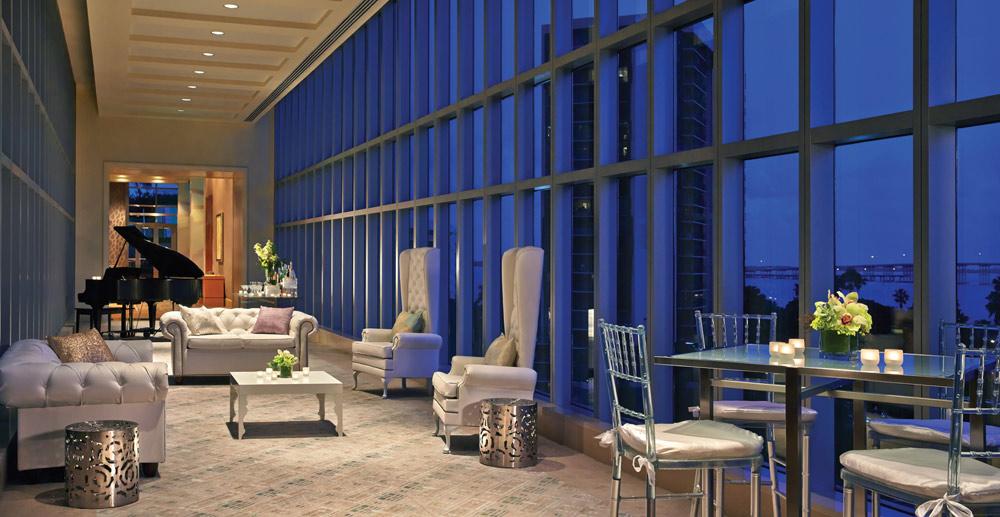 Lounge at Four Seasons MiamiFL